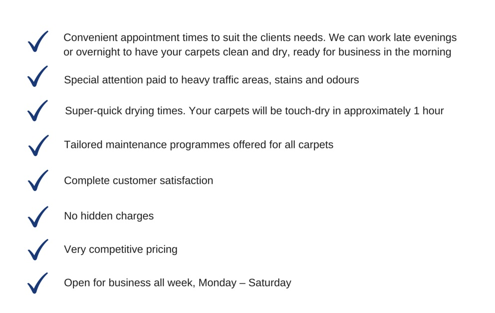 Features of our commercial cleaning service1