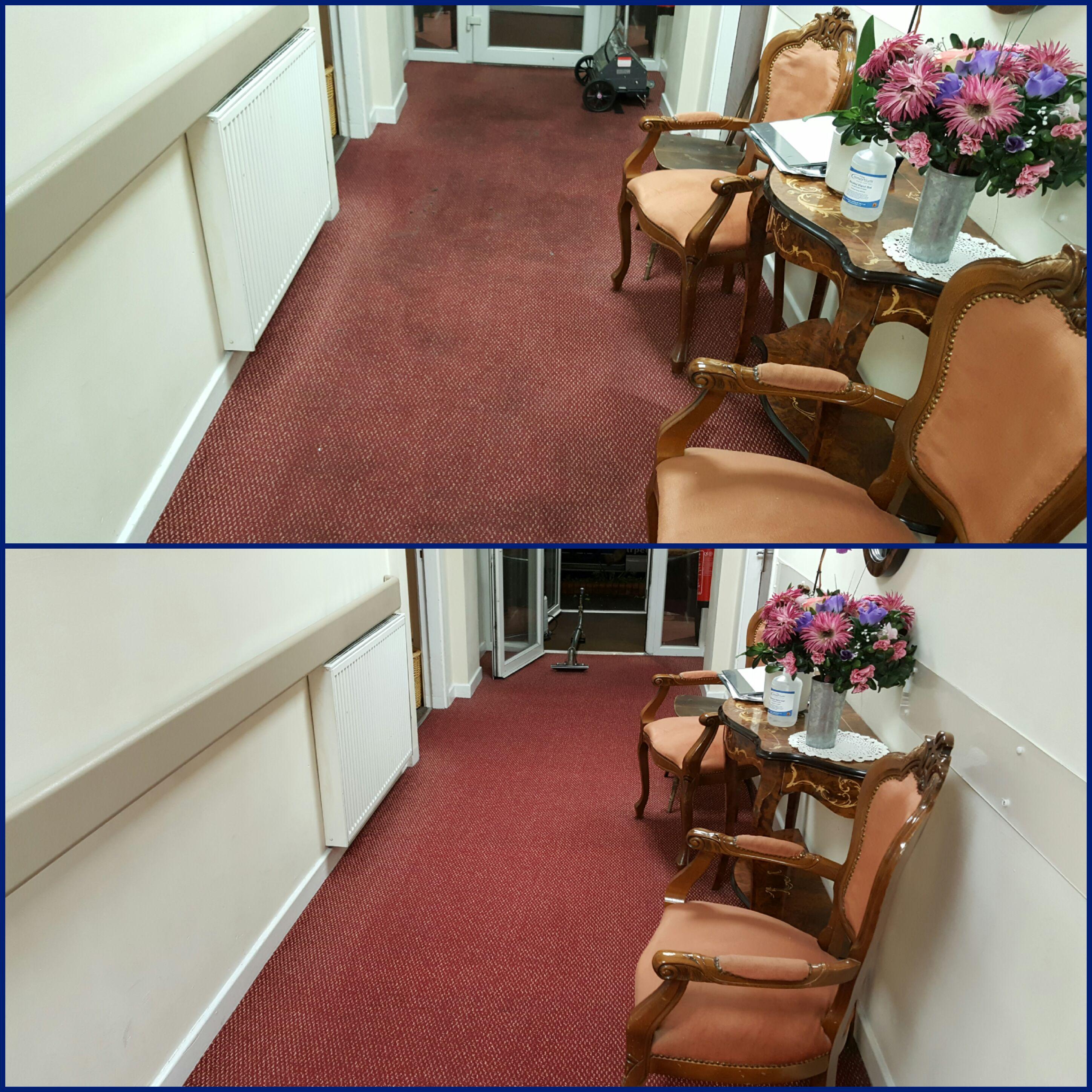 nursing home before and after carpet cleaning